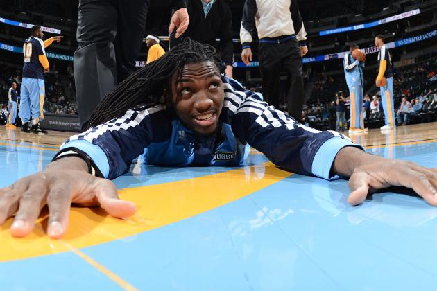 Kenneth Faried Slams Alley-Oop from Randy Foye