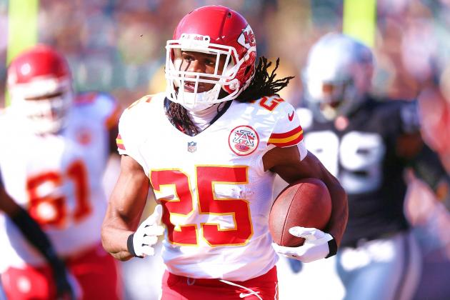 Jamaal Charles Proving He Can Carry the Chiefs' Playoff Offense