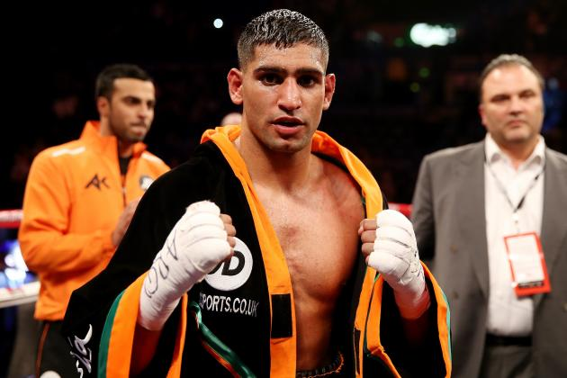 Amir Khan Expects Floyd Mayweather Fight to Be Announced