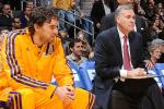 D'Antoni-Gasol Relationship Getting Worse