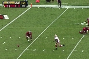 The Buccaneers Just Had the Most Fail Kickoff Return of All Time (GIF)