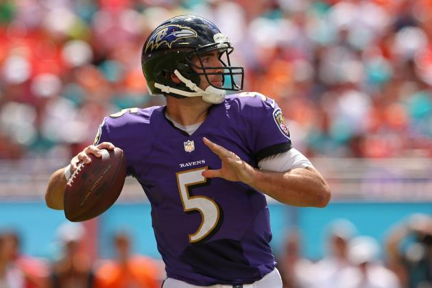 Joe Flacco Looking Forward to Dome
