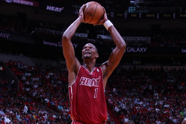 Chris Bosh Showing Signs of Life on Boards