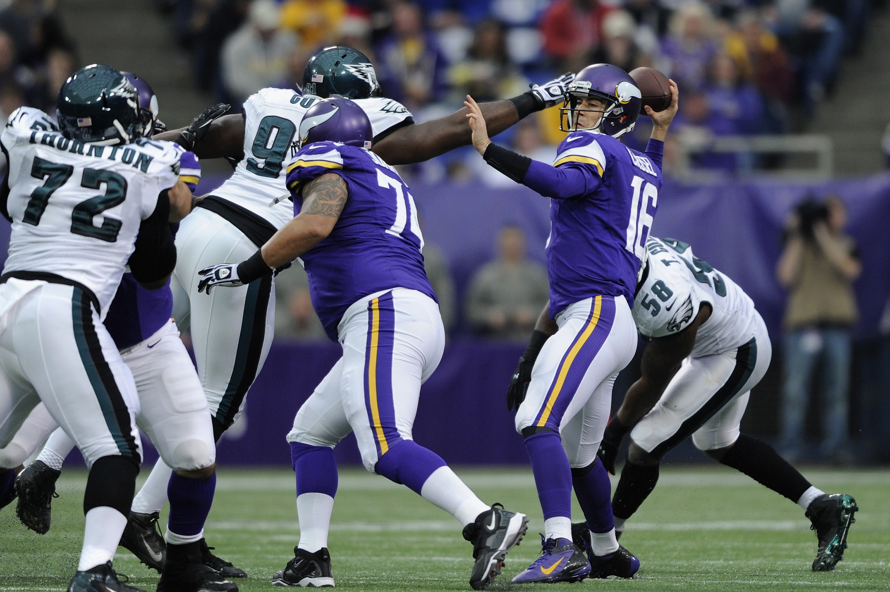 Nike NFL Jerseys - Philadelphia Eagles vs. Minnesota Vikings: Full Report Card Grades ...
