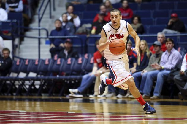 Marshall Henderson Involved in Bizarre Scoring Play in Middle Tenn vs. Ole Miss