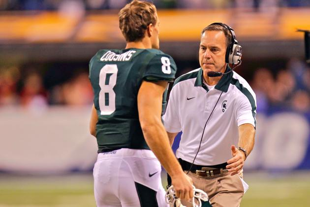 Ex-Spartans Kirk Cousins, LeVeon Bell Are Mark Dantonio's NFL Measuring Sticks