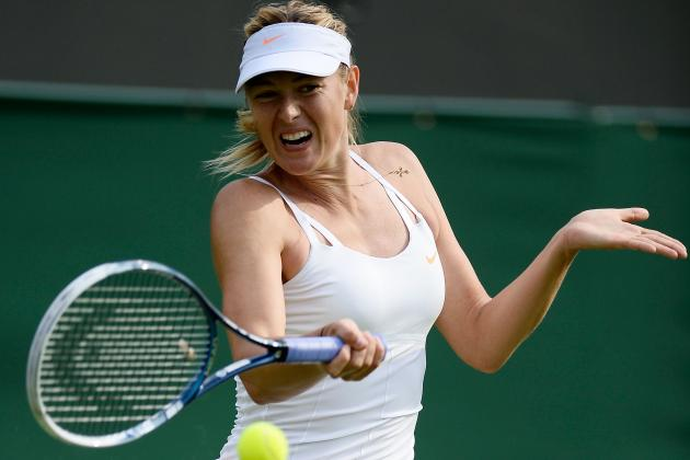 Maria Sharapova Opens Up About Jimmy Connors