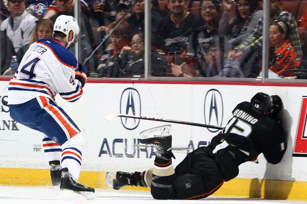 Edmonton Oilers' Corey Potter Faces Hearing for Hit