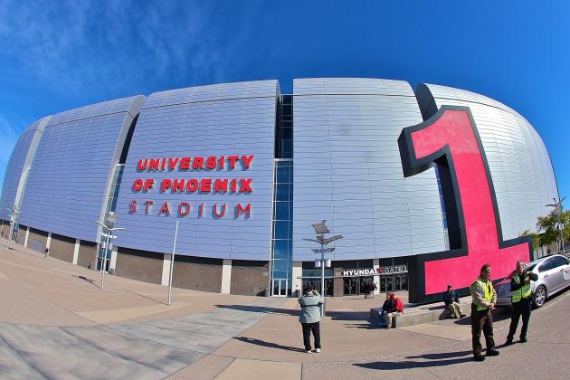 Arizona and Tampa to Host 2016, 2017 College Football Playoff Title Game