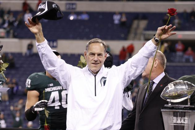 Could Mark Dantonio Be on Texas' Short List for New Coach?