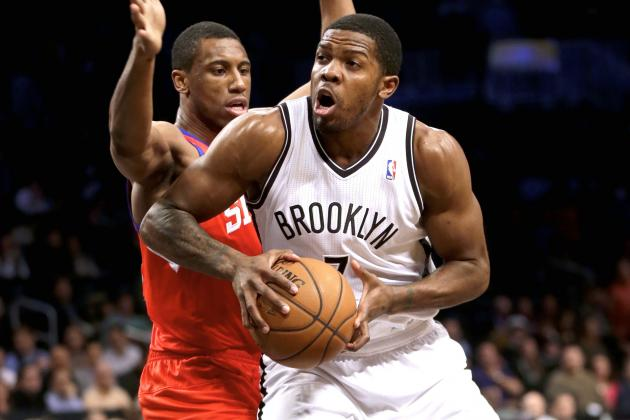 Brooklyn Nets' Joe Johnson Puts Up 29 Points in Third Quarter vs. 76ers