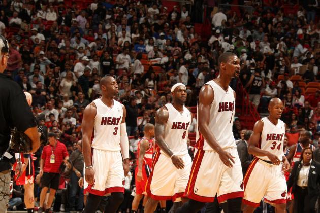 Big Three Dominate Third Quarter, Give Heat Big Win