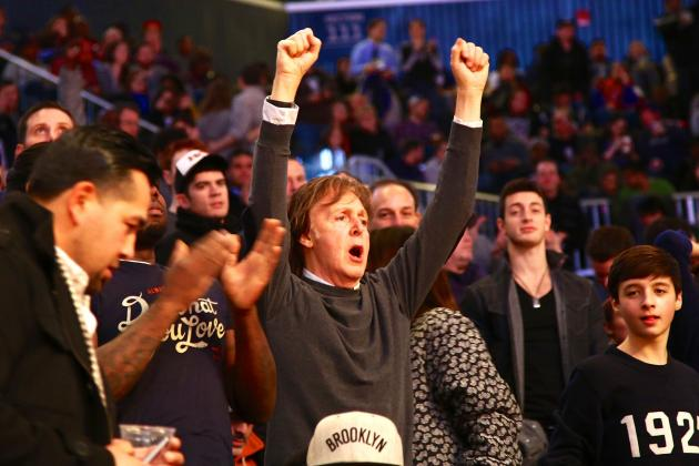Paul McCartney Desperately Wants a Brooklyn Nets Shirt