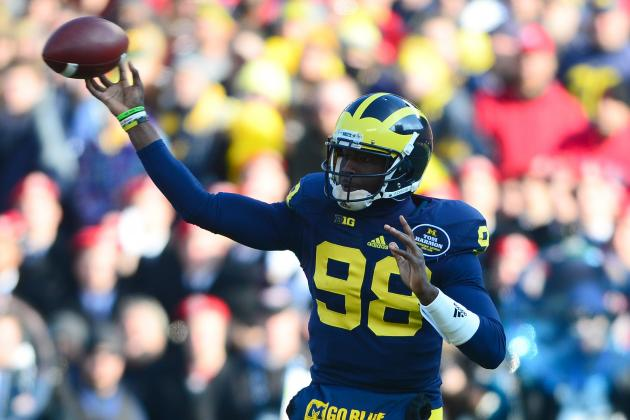 Michigan Football: Should Devin Gardner Play Versus Kansas State?