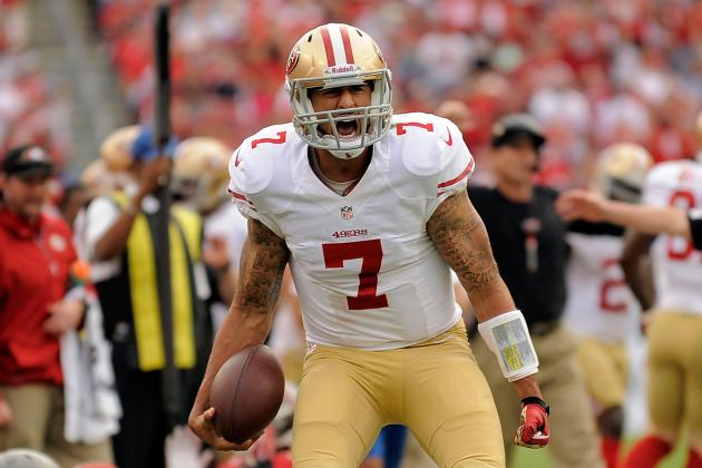 Colin Kaepernick Raising His Level of Play at Just the Right Time