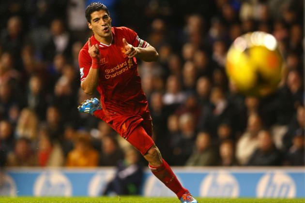 European Team of the Week: Suarez and Tevez Take Centre Stage