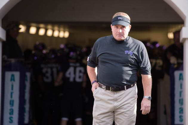 TCU's Offense Should Be Most Improved in the Big 12 in '14 with New Assistants