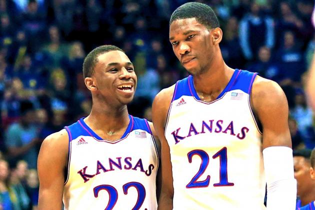 Meet Kansas' Joel Embiid, a Cameroon Native Blossoming into a Top NBA Prospect