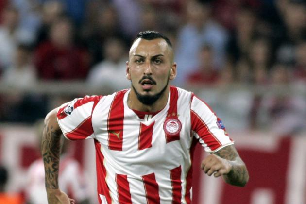 Arsenal Transfer News: Olympiacos Right to Fear Kostas Mitroglou Exit