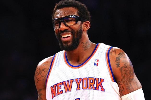 Amar'e Stoudemire Injury: Updates on Knicks PF's Knee and Return