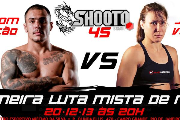 Shooto Brazil Promoting 'First Male vs. Female Fight in MMA History'