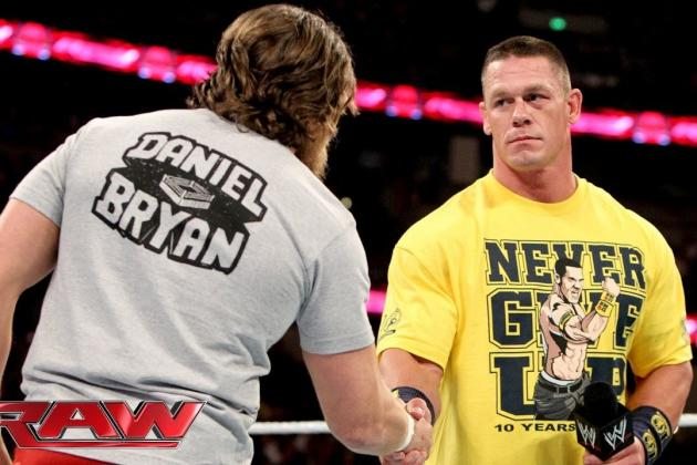 Daniel Bryan's Friendship with John Cena Will Morph into Rivalry