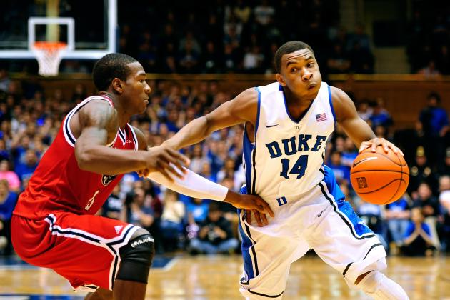 Duke Basketball: Coach K Must Keep Rasheed Sulaimon's Minutes Limited
