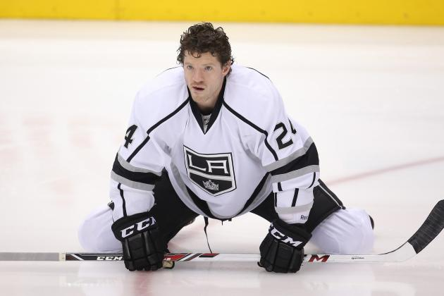 Kings' Fraser Skates After Going Through Concussion Protocol