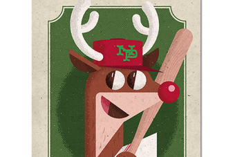 Reindeer Rudolph Is a 5-Tool Phenom, According to Baseball-Reference Page