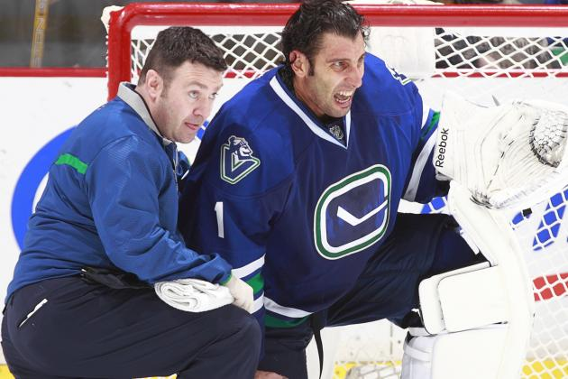 Roberto Luongo Gets First Start in Minnesota in over Three Years