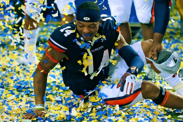BCS Championship Game: Layoff Will Benefit Auburn QB Nick Marshall Most