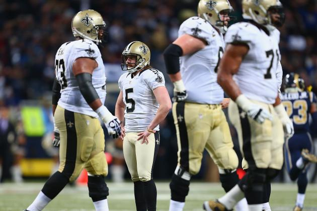 Saints Cut Garrett Hartley This Time, Also Chris Carr