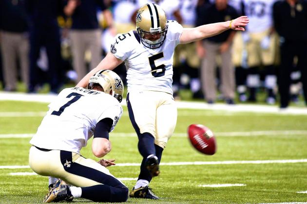 Garrett Hartley Waived by New Orleans Saints