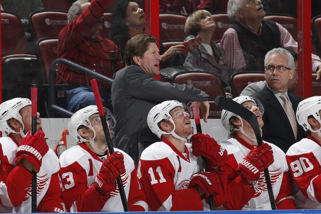 Detroit Red Wings 2013-14 Season Highlighting Team's Uncertain Future