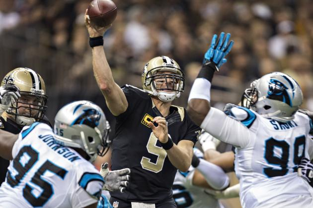 In Rematch, Panthers Aim to Increase Pressure Drew Brees