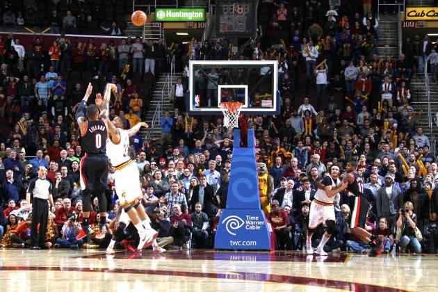 Damian Lillard Hits Game-Winning 3-Pointer to Lift Blazers over Cavs
