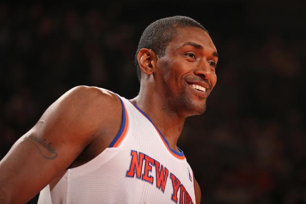 Has Metta World Peace Figured out a Role with NY Knicks Yet?