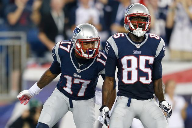 Rookie Season over for Patriots First-Year Receivers