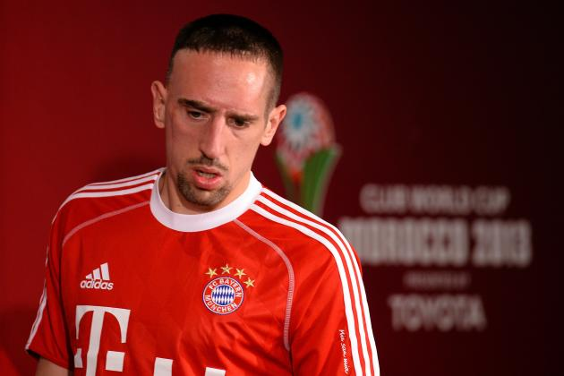 Bayern Munich's Franck Ribery Named Bundesliga Player of the Year