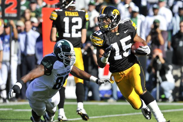 What's Behind Former Iowa Receiver Derrell Johnson-Koulianos' Twitter Tirade?