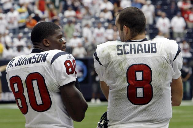 Matt Schaub and Andre Johnson's Updated Fantasy Value After Case Keenum's Injury