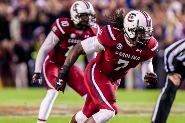 Clowney Reflects on South Carolina Experience: 'I Had to Grow Up Fast'