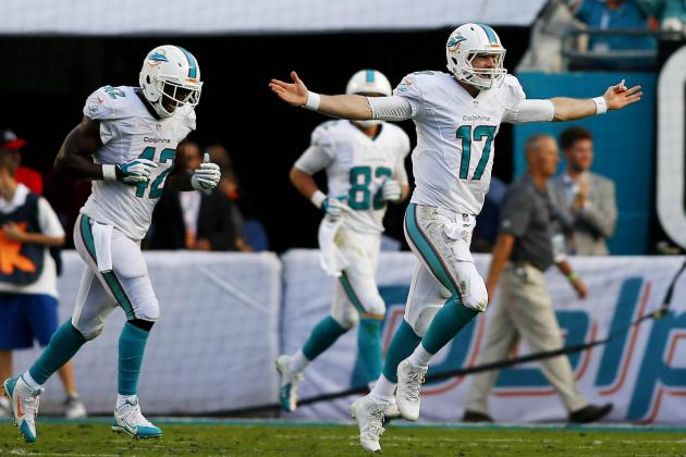 Ryan Tannehill's Progression Spurring the Dolphins' Playoff Push