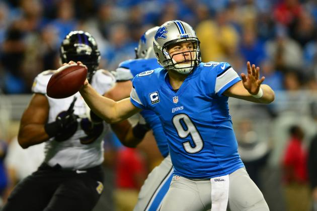 Is Matthew Stafford the Real Tony Romo?