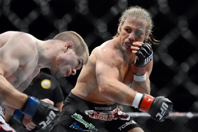 UFC on Fox 9 Medical Suspensions: Faber, McGee, Danzig Face Long Layoffs