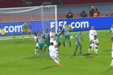 GIF: Ronaldinho Curls in Superb Free Kick for Atletico Mineiro