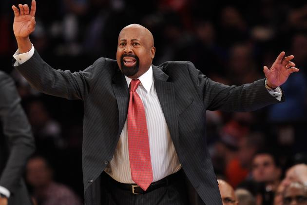 Mike Woodson Says Knicks GM Mills 'Supportive' Despite Struggles