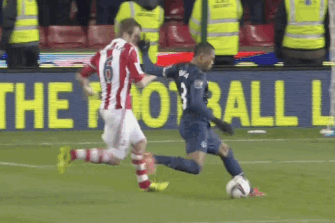 GIF: Patrice Evra Scores for Manchester United vs. Stoke in Capital One Cup
