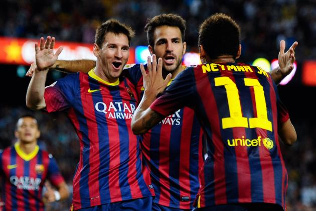Breaking Down Manchester City's Champions League Opponents Barcelona