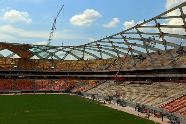 World Cup Gossip: Building Shut Down in Manaus as Strike Continues